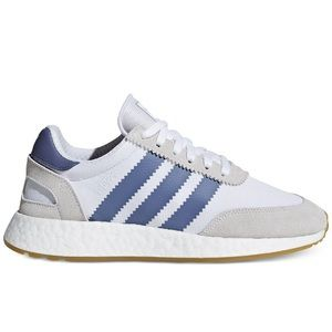 adidas I-5923 Casual Sneakers White Blue NWT